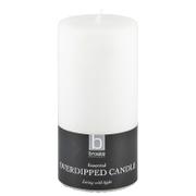 Broste Copenhagen Pillar Candle - White - 7cm x 15cm