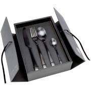 Broste Copenhagen Hune Matt Black Cutlery Set