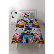Batman v Superman Clash Rotary Duvet Set - Double