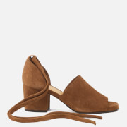 Hudson London Women's Metta Suede Heeled Sandals - Tan