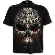 Camiseta Spiral Death Bones - Hombre - Negro