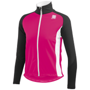 Sportful Kids' Softshell Jacket - Fuchsia/White