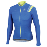Sportful BodyFit Pro Thermal Long Sleeve Jersey - Blue