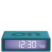Lexon Flip Clock - Teal