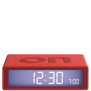 Lexon Flip Clock - Red