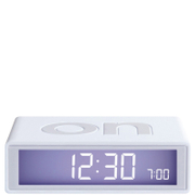 Lexon Flip Clock - White