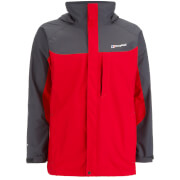 Berghaus Men's Gamma Long Jacket - Extreme Red/Carbon - S