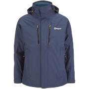 Berghaus Men's Island Peak 3 in 1 Hydroloft Colourkind Gore-Tex Jacket - Navy/Poseidon - XL
