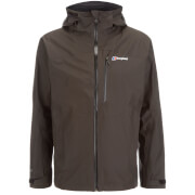 Berghaus Men's Island Peak Colourkind Gore-Tex Jacket - Dark Grey/Jet Black - S