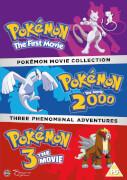 Pokemon Movie Collection (Pokemon The First Movie, Pokemon The Movie 2000, Pokemon 3 The Movie)