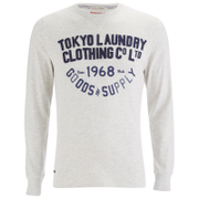 Tokyo Laundry Men's Point Hendrick Long Sleeve Top - Oatgrey Marl