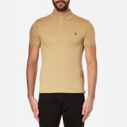 Polo Ralph Lauren Mens Slim Fit Short Sleeved Polo Shirt  Luxury Tan  XXL