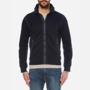 Polo Ralph Lauren Men's Hybrid Zipped Jacket - Cruise Navy