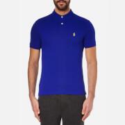 Polo Ralph Lauren Mens Slim Fit Short Sleeved Polo Shirt  Heritage Royal  S