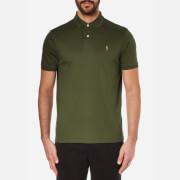 Polo Ralph Lauren Mens Custom Fit Short Sleeve Polo Shirt  Armadillo  XL