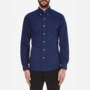 Polo Ralph Lauren Men's Slim Fit Long Sleeve Shirt - Holiday Navy