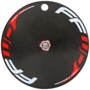 FFWD Fast Forward Carbon/Alloy TT/Tri Clincher Rear Disc Wheel - Campagnolo - Red