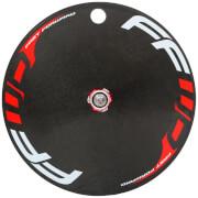 FFWD Fast Forward Carbon/Alloy TT/Tri Clincher Rear Disc Wheel - Shimano - Red