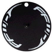 FFWD Fast Forward Carbon/Alloy TT/Tri Clincher Rear Disc Wheel - Shimano - White