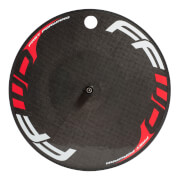 Image of Fast Forward Carbon TT/Tri Clincher Rear Disc Wheel - Shimano - Red