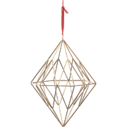 Nkuku Talini Diamond Christmas Decoration