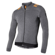 Nalini Pro Gara Ti Long Sleeve Jersey - Grey/Orange
