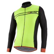 Nalini Sinello Warm Long Sleeve Jersey - Fluro Yellow
