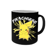 Pikachu Heat Activated Mug