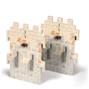 Papo Medieval Era: Weapon Master Castle   2 Small Walls (Set 6)