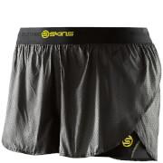 Skins DNAmic Women's Superpose Shorts - Black/Limoncello