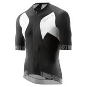 Skins Cycle Men's Tremola Due Short Sleeve Jersey - Black/White - L - Black/White