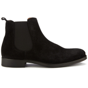 Selected Homme Men's Oliver Suede Chelsea Boots - Black