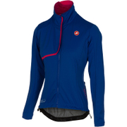 Castelli Women's Indispensible Jacket - Blue/Pink