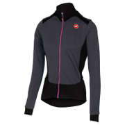 Castelli Women's Sciccosa Long Sleeve Jersey - Grey/Black