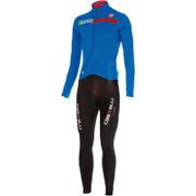 Castelli Sanremo 2 Thermo Suit - Blue