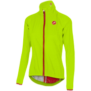Castelli Women's Riparo Jacket - Yellow Fluo