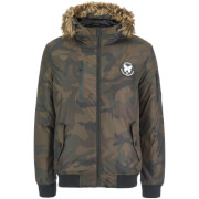 Good For Nothing Men's Alaska Bomber Jacket - Camo