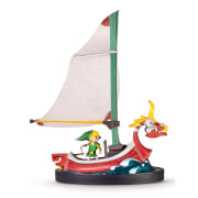 Link on The King of Red Lions Figurine (The Legend of Zelda: The Wind Waker)