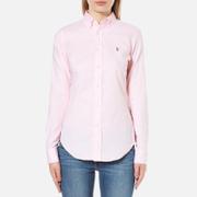 Polo Ralph Lauren Womens Kendal Oxford Shirt  Light Rose  8UK 12