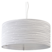 Graypants Drum Pendant - 18 Inch - White