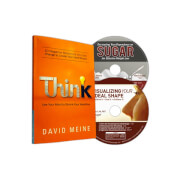 2 motivational weight loss cd's and think book by david meine - child