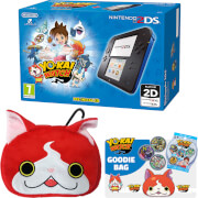Nintendo 2DS Black/Blue + YO-KAI WATCH Pack