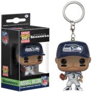 NFL Russell Wilson Pocket Pop! Vinyl Key Chain