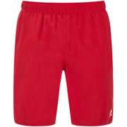 Animal Men's Bahima Board Shorts - Crimson Red