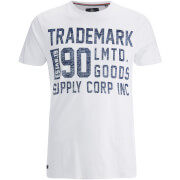 Threadbare Men's Palm T-Shirt - White