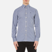 Hackett London Men's Classic Check Shirt - Navy
