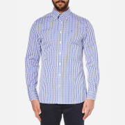Hackett London Men's Classic Check Shirt - Blue