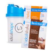 2 sample packs and blender bottle - child