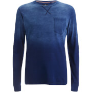 Sweat Threadbare pour Homme Moscow Gradient -Bleu