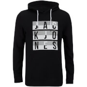 Sweat à Capuche Jack & Jones pour Homme Core Eddy -Noir